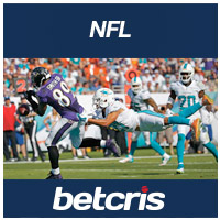 BETCRIS NFL Ravens vs Dolphins Betting Odds