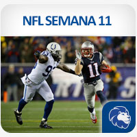 NFL Semana 11 New England vs Indianapolis