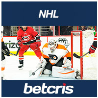 BETCRIS NHL Hurricanes at Flyers BETTING ODDS