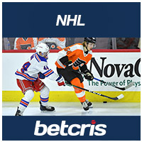 BETCRIS NHL Rangers at Flyers betting odds