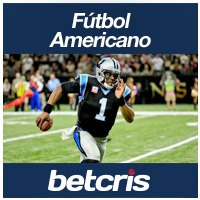 BETCRIS Apuestas futbol Americano Thursday Night Football Foto Panthers vs Saints Cam Newton