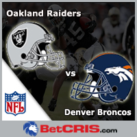 Raiders vs Broncos  - NFL SEMANA 14