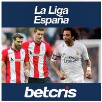 BETCRIS Apuestas Futbol Laliga Espana Real Madrid vs Athletic de Bilbao