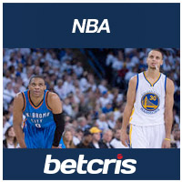 BetCRIS NBA  Steph Curry Warriors vs Russell Westbrook Thunder