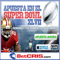 Baltimore Ravens vs San Francisco 49ers - Apuesta en Super Bowl XLVII