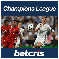 BETCRIS Futbol Champions League Bayern Munich vs Real Madrid