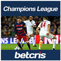 BETCRIS Futbol UEFA Champions League Barcelona VS Roma