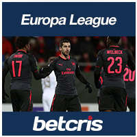 betcris UEFA Europa League Arsenal vs Ostersunds FK