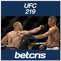 BETCRIS UFC 219 McGregor vs Diaz Rematch BETTING ODDS