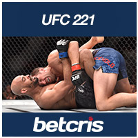 betcris UFC-221 Rockhold vs Romero BETTING ODDS