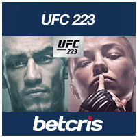betcris UFC 223 First Look betting odds