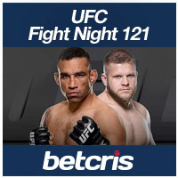 BETCRIS UFC Fight Night 121 Fabricio Werdum vs Marcin Tybura