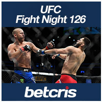 betcris UFC Fight Nigh 126 betting odds