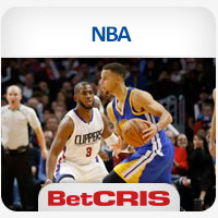 BetCRIS Apuestas Partidos Baloncesto NBA Golden State Warriors y los LA Clippers