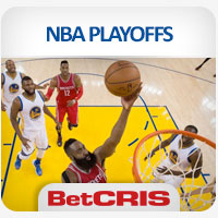 BetCRIS Apuestas partidos Warriors vs Rockets Playoffs