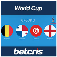 BETCRIS World Cup 2018 Rusia Group G