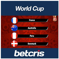 betcris /World Cup Group C Preview odds