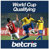 betcris World Cup Qualifying betting odds