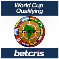 BETCRIS World Cup Qualifying CONMEBOL betting odds