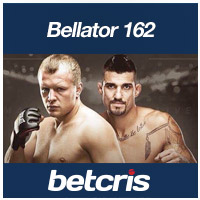 betcris Bellator 162 Shlemenko vs Grove odds