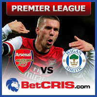 Premier League - Wigan vs Arsenal