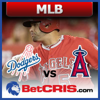 Dodgers vs Angels - Grandes Ligas de la MLB