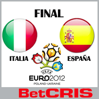 Final Eurocopa  2012 - BetCRIS.com
