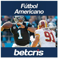 Apuestas BETCRIS Monday Night Football Redskins vs Panthers Cam Newton