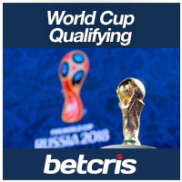 BETCRIS soccer Betting qualifying for World Cup 2018