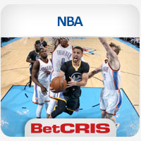 BetCRIS Apuestas partidos Warriors vs Thunder NBA Playoffs