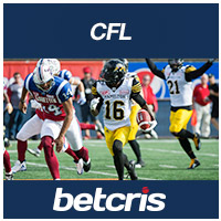 BETCRIS CFL Hamilton at Montreal