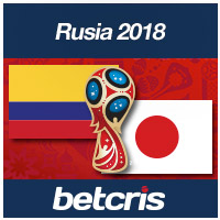 Copa Mundial Colombia vs Japon