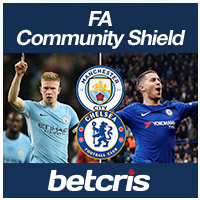 FA Community Shield Betting Odds Manchester City vs. Chelsea