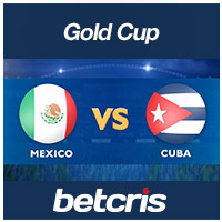 2019 CONCACAF Gold Cup match between Mexico and Cuba