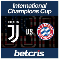 International Champions Cup Juventus vs Bayern Munich