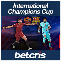 BETCRIS International Champions Cup Barcelona vs Roma