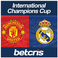 BETCRIS International Champions Cup Manchester United vs Real Madrid