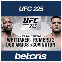 BETCRIS MMA UFC 225 betting odds