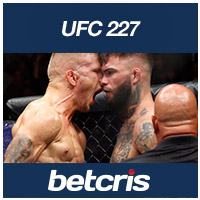 BETCRIS MMA UFC 227 Dillashaw vs Garbrandt Johnson vs Cejudo