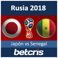 Copa Mundial Rusia 2018 Japon vs Senegal