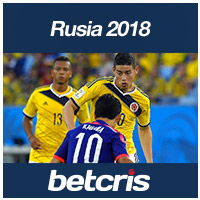 BETCRIS Mundial futbol Rusia Colombia vs Japon