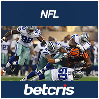 NFL Football Odds Cincinnati Bengals at Dallas Cowboys