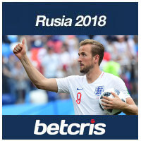BETCRIS Rusia 2018 MUNDIAL MODIFICACIONES LINEAS HARRY KANE