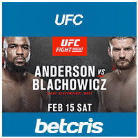 UFC Fight Night - Anderson vs. Blachowicz - UFC Event