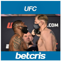UFC Fight Night 173 Curtis Blaydes vs. Alexander Volkov
