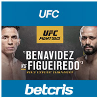 UFC on ESPN 27 Joe Benavidez vs. Deiveson Figueiredo