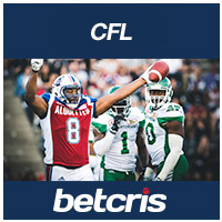 BETCRIS Winnipeg Blue Bombers vs Montreal Alouettes CFL Game of the Week