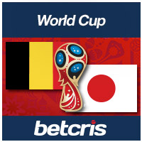 BETCRIS World Cup Belgium vs Japan