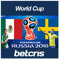 BETCRIS World Cup Mexico vs Sweden