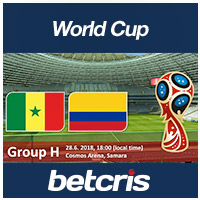 BETCRIS World Cup Senegal vs Colombia